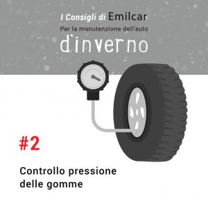 Emilcar blog - consigli manutenzione inverno - pressione gomme