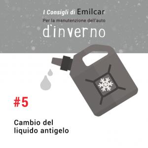 Emilcar blog - consigli manutenzione inverno - liquido antigelo