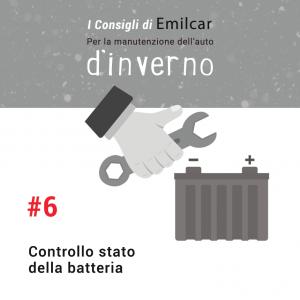 Emilcar blog - consigli manutenzione inverno - batteria