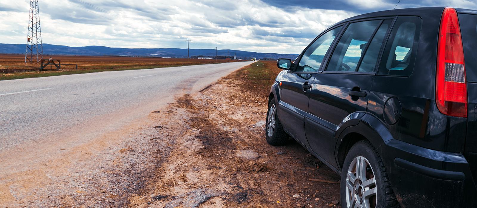emilcar - restare senza benzina - veicolo in avaria